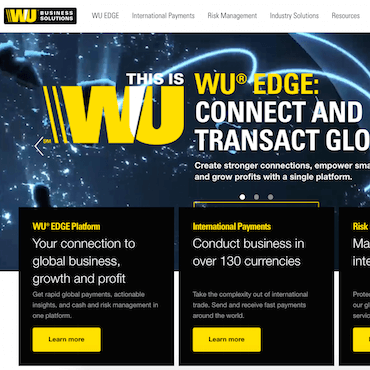 Western Union Business Solutions Review